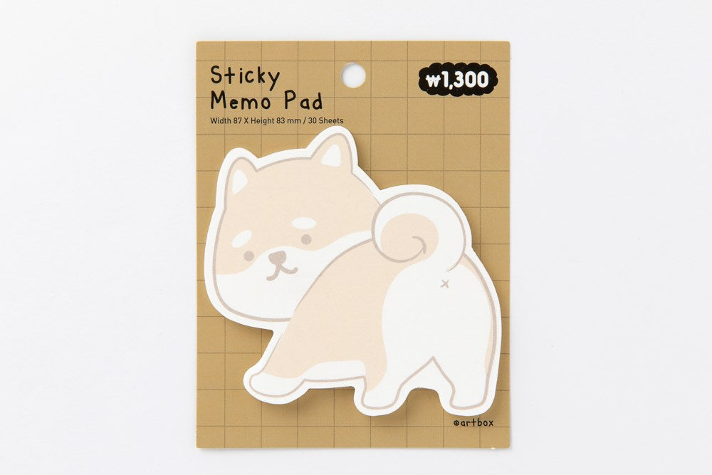 [DMV ONLY] Artbox Puppy Sticky Memo Pad 04009752