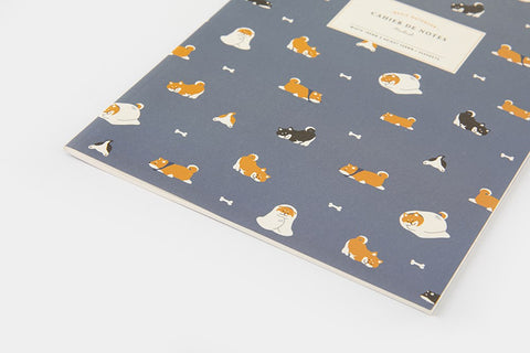 [DMV ONLY] Artbox Shiba pulled over blanket Notebook 03008128