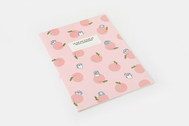 [DMV ONLY] Artbox G.Friends G. Boss with peach Notebook 03008130