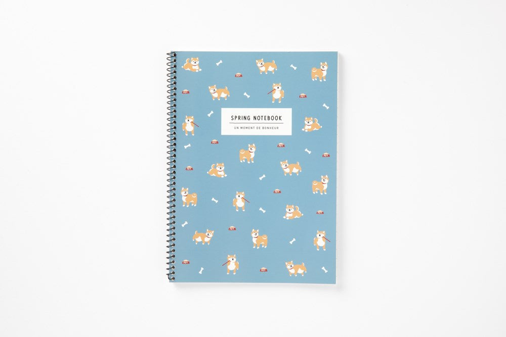 [DMV ONLY] Small Spiral Notebook - Shiba 03007993