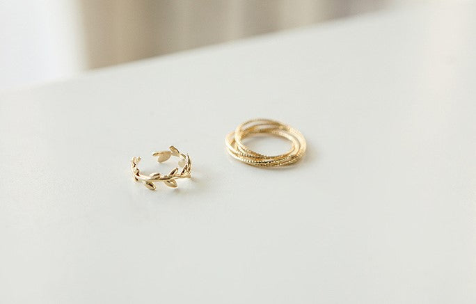 Soo & Soo Twin Set Ring