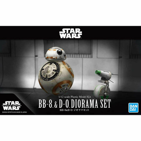 Bandai Star Wars BB-8 & D-) Diorama Set 1/12