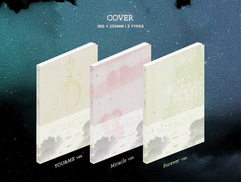 K-pop CD Got7 'Miracle' <Present : You> & Me Edition