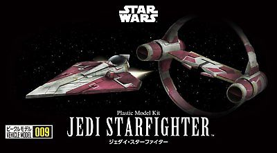 Star Wars Vehicle Model #009 Jedi Starfighter