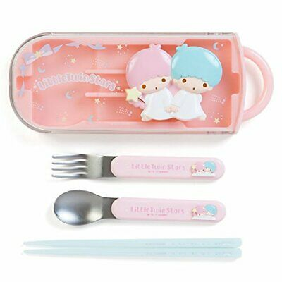 Sanrio Little Twin Star Spoon, Fork, and Chopstick Set