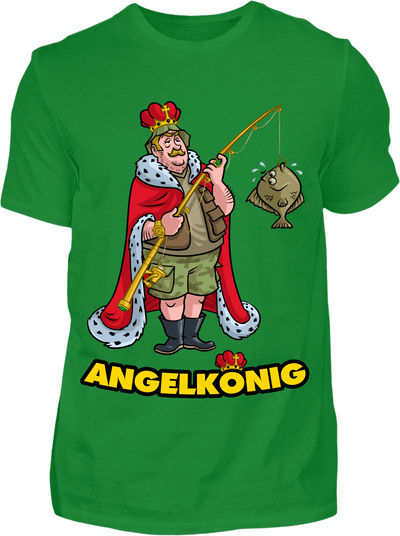 Angelkönig T-Shirt - Kreisligahelden.de