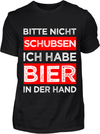 Bier in der Hand T-Shirt - Kreisligahelden.de