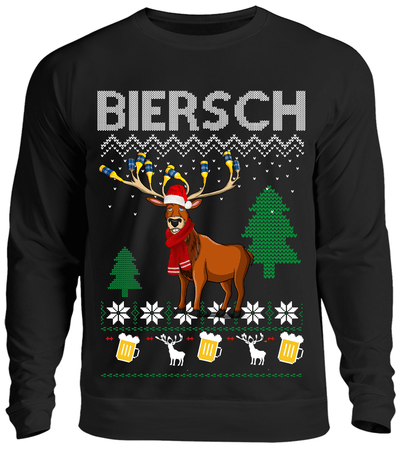 Biersch Ugly Christmas Sweater Sweater - Kreisligahelden.de