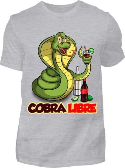 Cobra Libre T-Shirt - Kreisligahelden.de