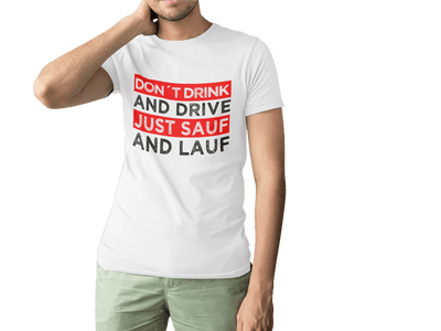 Just Sauf and Lauf T-Shirt - Kreisligahelden.de