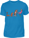 Flamingo Evolution T-Shirt - Kreisligahelden.de