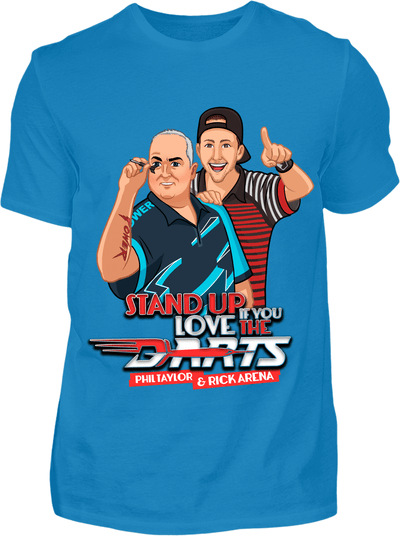 Stand up if you love the Darts T-Shirt - Kreisligahelden.de