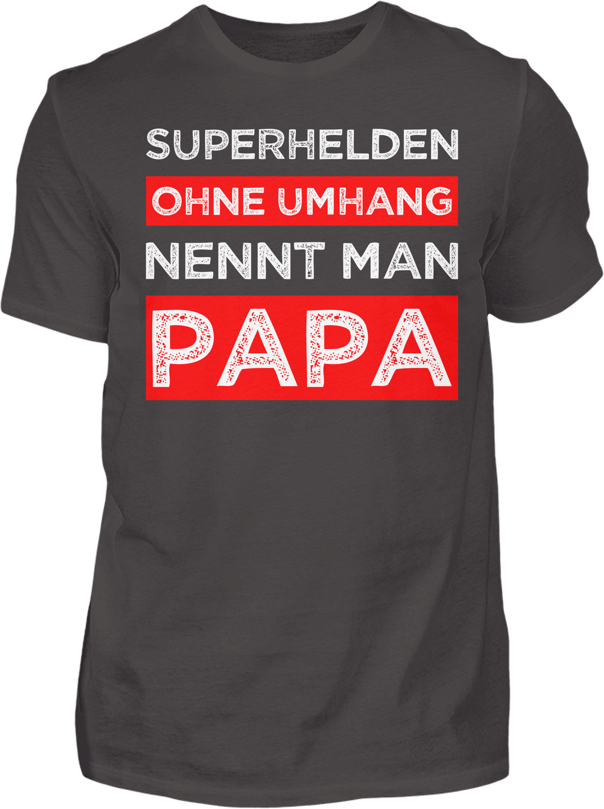 Superhelden ohne Umhang T-Shirt - Kreisligahelden.de
