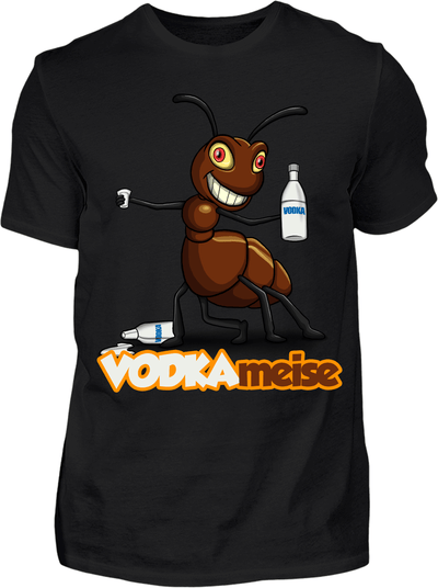 Vodkameise T-Shirt - Kreisligahelden.de
