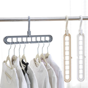 (50% OFF TODAY)Clothes Hangers,Multifunctional Closet Organizer