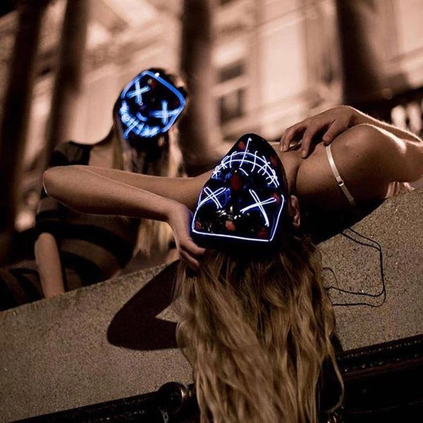 (Big Sale Last Day!)Party Purge LED Mask--Share With Friends