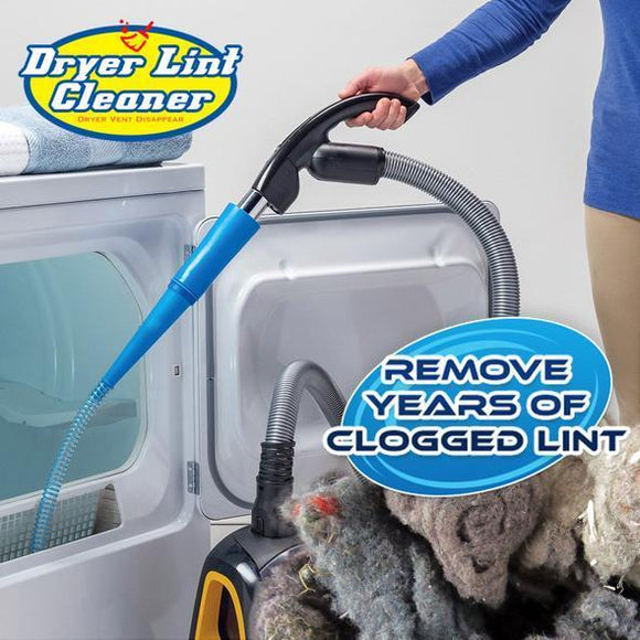 Dryer Lint Cleaner ( Prevent Fires & Respiratory Issues )