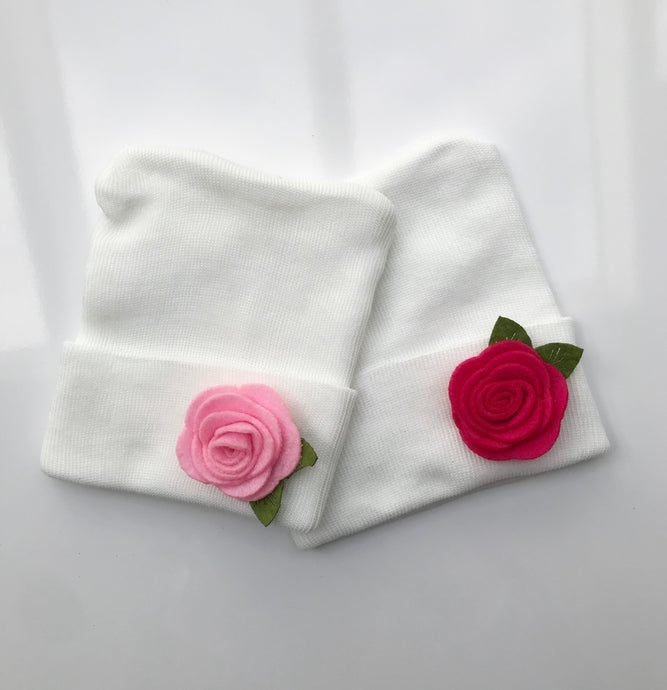 Rose Hospital Hat - The Gifted Baby NY