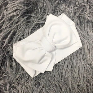 White Oversized Bow - The Gifted Baby NY