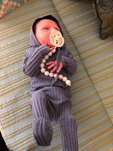Pearl Pacifier Clip - The Gifted Baby NY