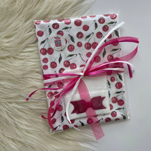 Load image into Gallery viewer, Cherry Swaddle Gift Set
