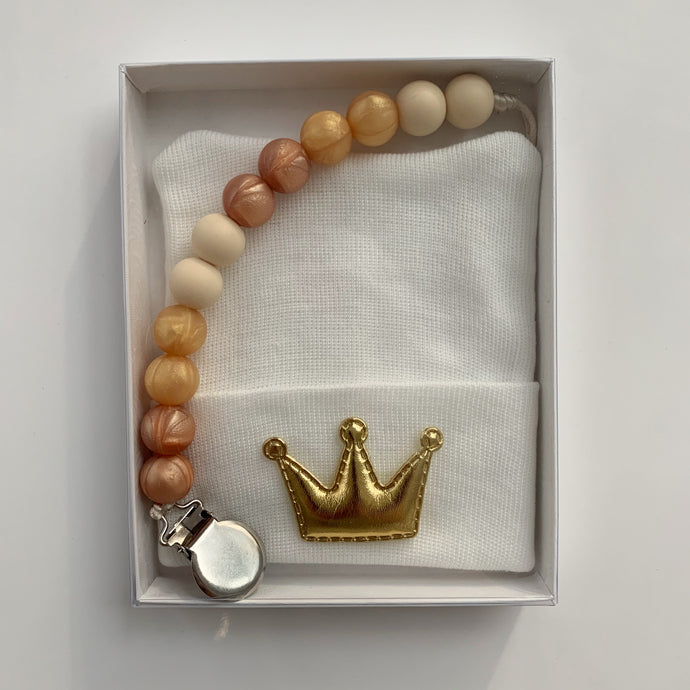 Golden Crown Gift Set - The Gifted Baby NY