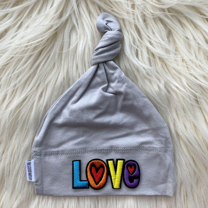 Light Gray Hat Love - The Gifted Baby NY