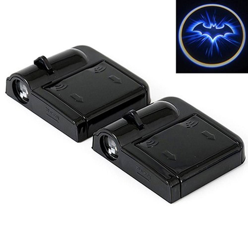 Wireless Car Door Decor Light Shadow LED  Laser Projector