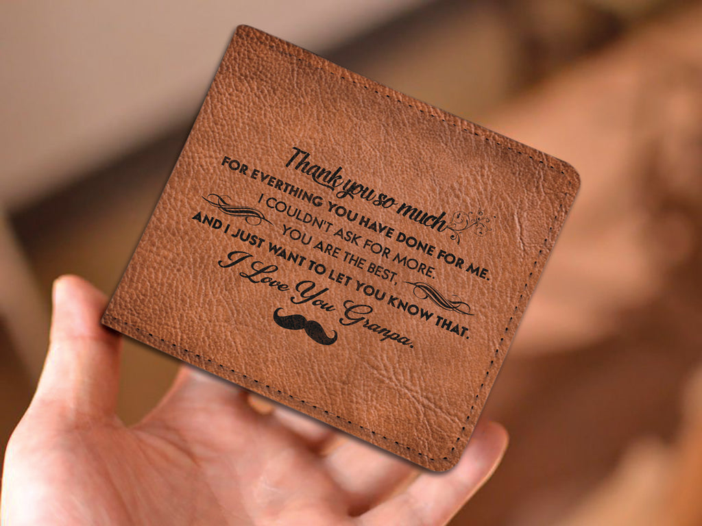 'I LOVE YOU, GRANDPA' WALLET