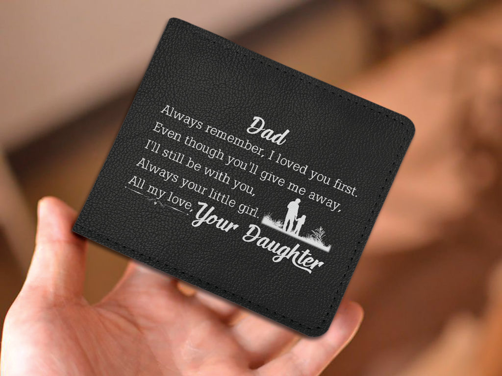 'DAD- DAUGHTER'S FIRST LOVE' WALLET