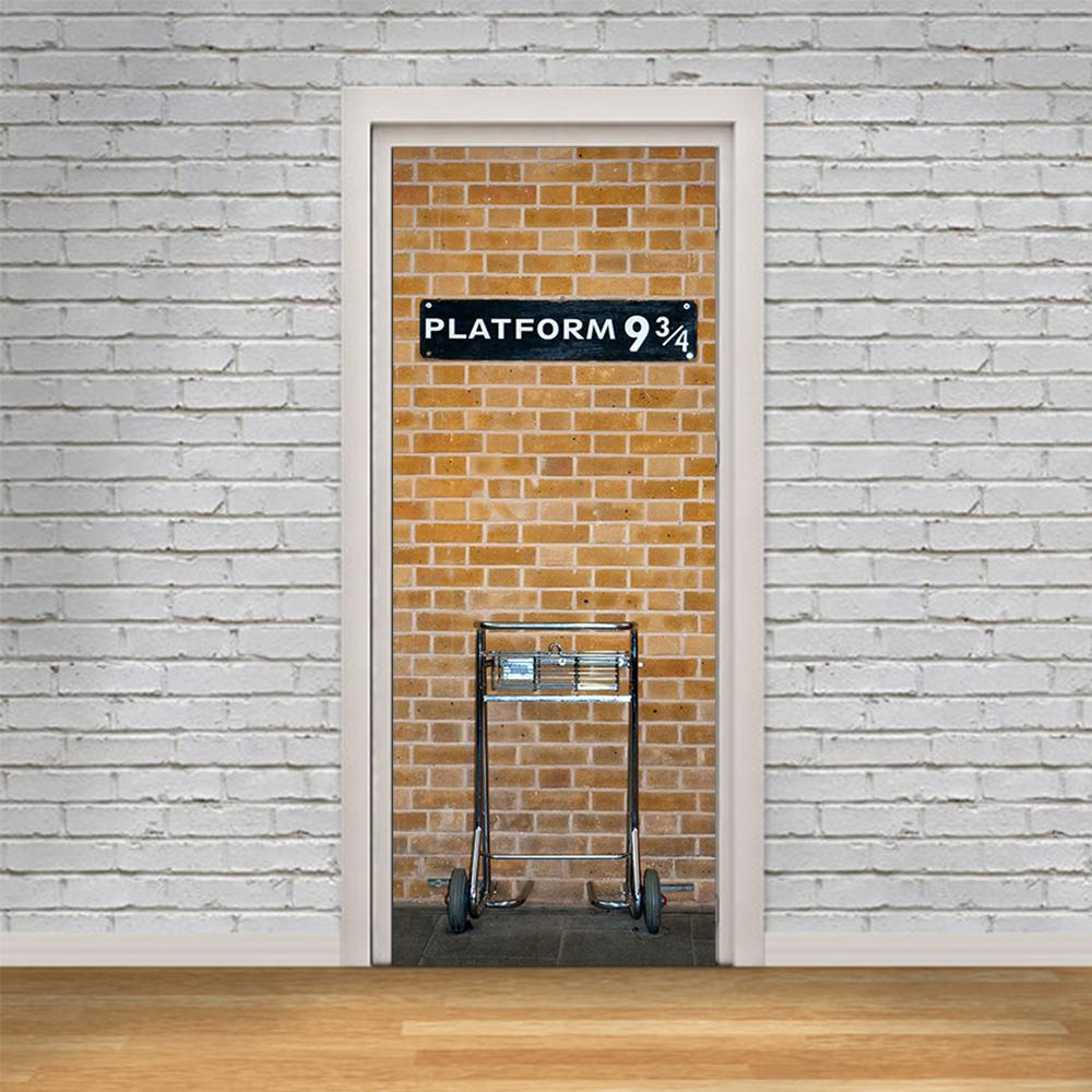 New Harry Potter Platform 9 3/4 Wall Stickers