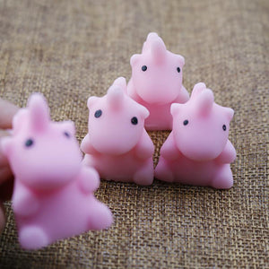 New Arrival 5CM Mini Unicorn Squishy Fun Slow Rising Cartoon
