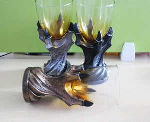New Arrival Game of Thrones Gothic Dragon Claw Glass Holder Cup