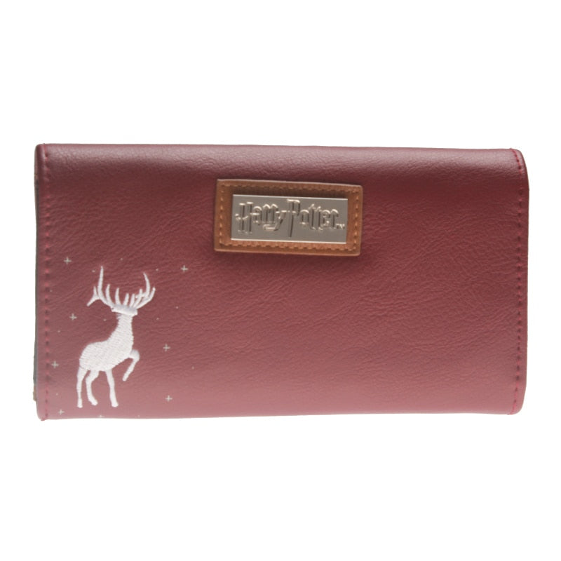 HARRY POTTER HOGWARTS RED WALLET WOMEN
