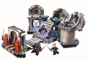 Hot Christmas 2017 Gift Star Wars Final duel with 723 pcs