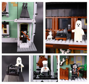 New Arrivel 2017 The Haunted House with 2141Pcs