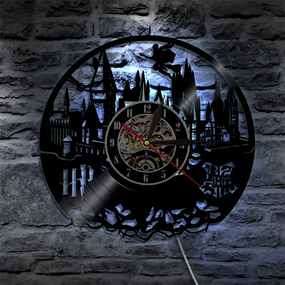 2017 Harry Potter Wall Clock with Led Lighting