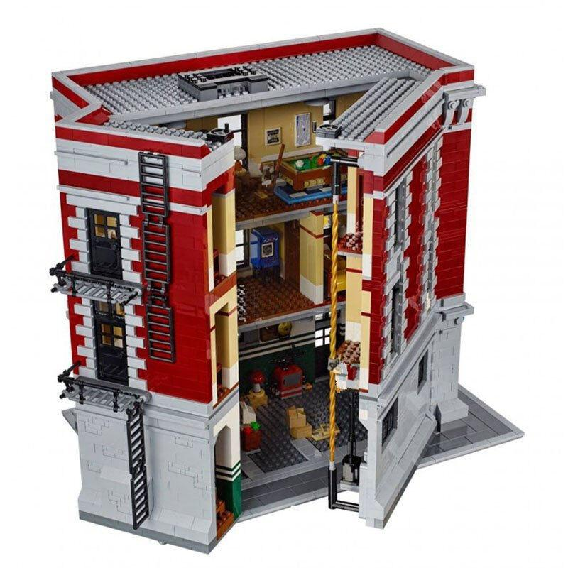 Hot 2017 Ghostbusters Firehouse Headquarters with 4695Pcs