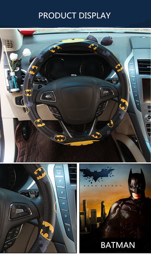New Car Leather Steering Wheel Cover