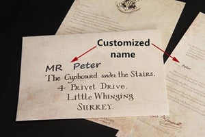 Ticket-customization Harry Hogwarts Acceptance Letter Package 5pcs