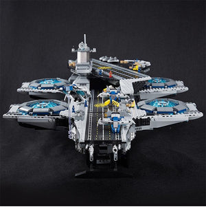 Hot 2017 Christmas Gift The SHIELD Helicarrier with 3057 Pcs