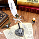 2018 New Arrival Harry Potter Vintage Feather Pen Gift Set For Fans