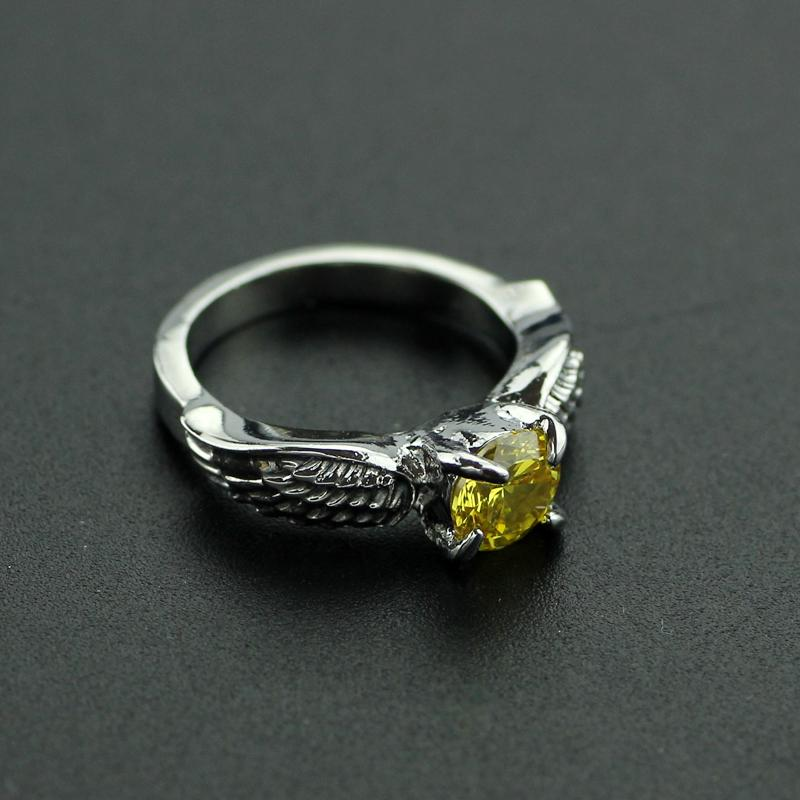 Hot Sale Harry Potter Quidditch Golden Snitch Ring