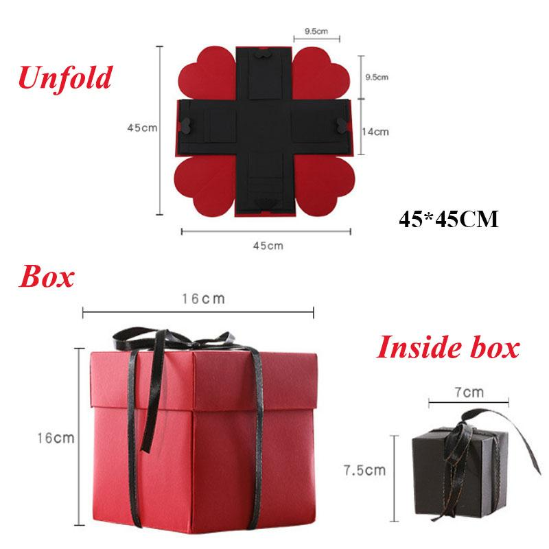 Hot Explosion Gift Box DIY Photo Album Storage Box