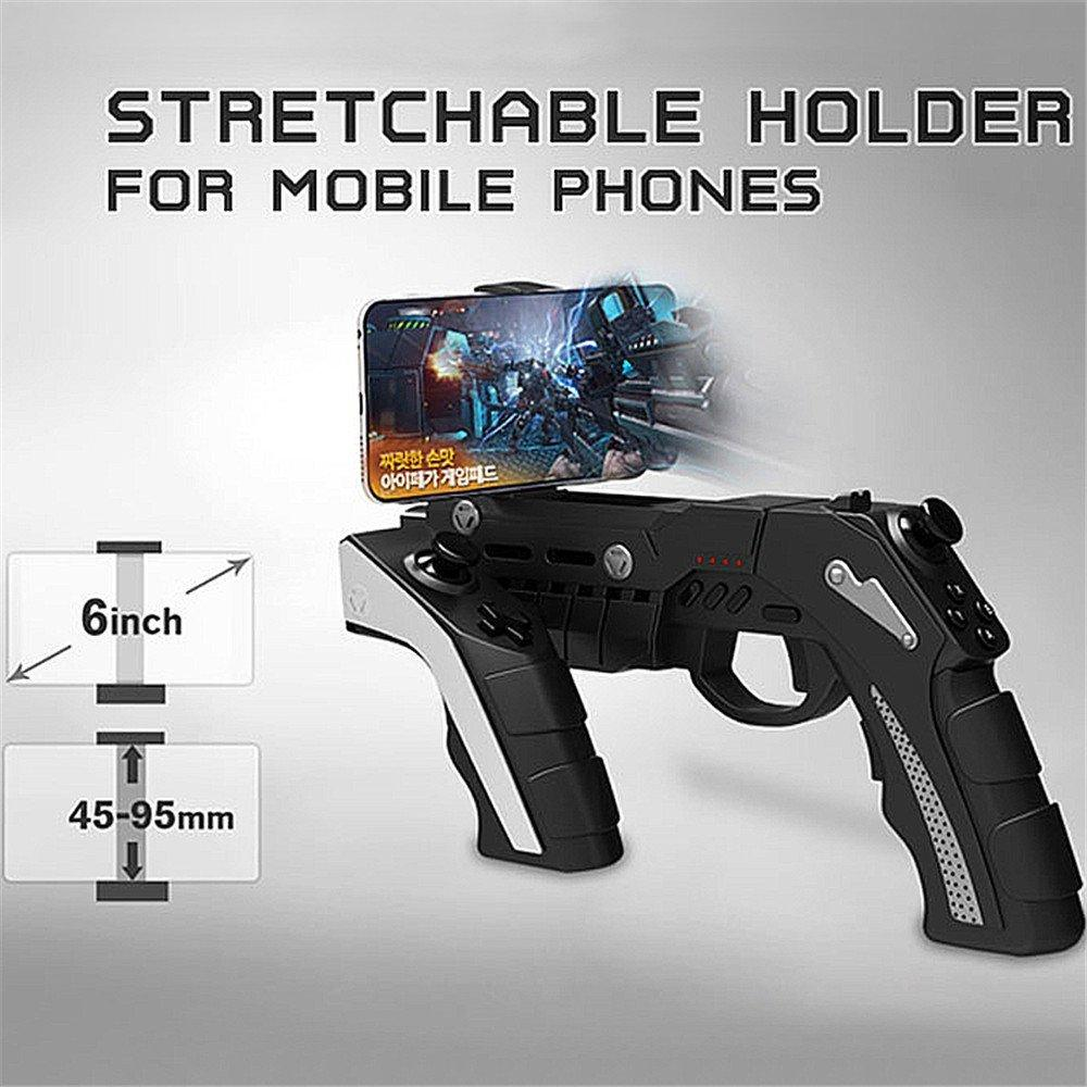 2018 Hot - Gun Style Wireless Bluetooth Game Controller for PUBG game