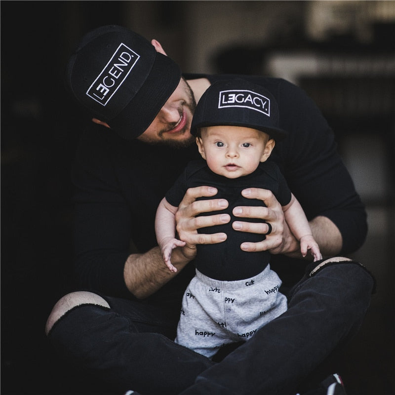 LEGEND LEGACY Snapbacks Father & Son
