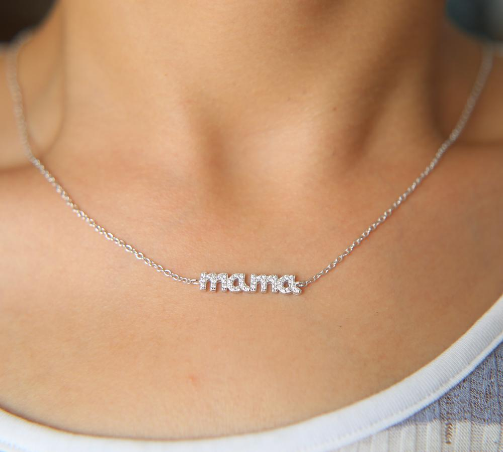Mother's Day Gift -  Mama Charm Chain