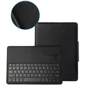 New 2018 Wireless Bluetooth Keyboard + PU Leather Cover Protective Case For iPad 5 / 6 / Air / Air 2 / Pro 9.7