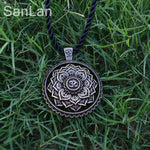 New Arrival Indian mandala flower necklace - zen yoga OM