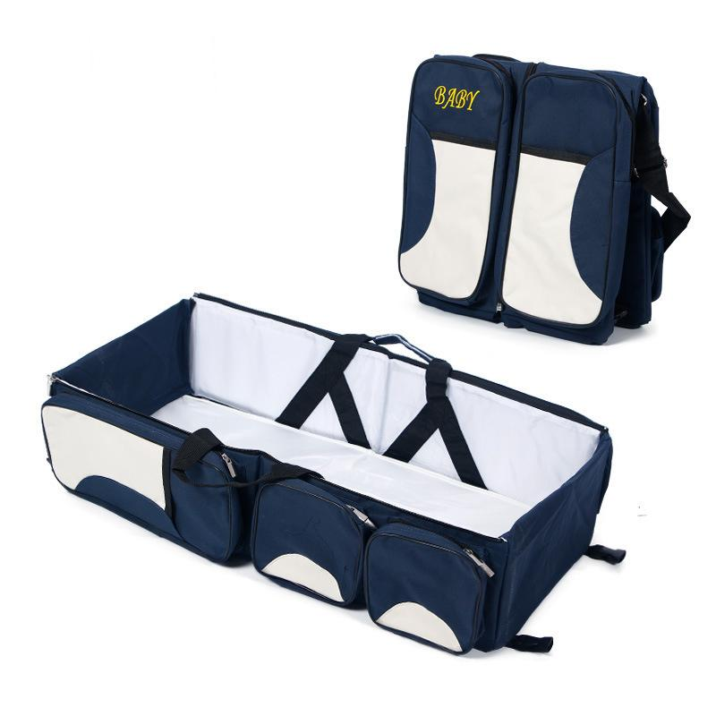 New Parent Travel Portable Bassinet Diaper Multifunction Bag